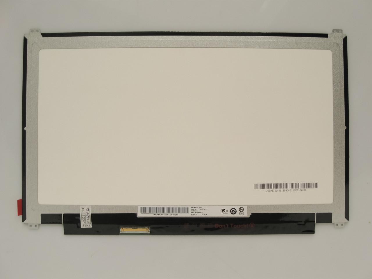 Матрица для ноутбука 13,3 Led Slim 1366x768 40pin lvds разъем слева внизу (со стороны платы) вертикальные уши бу