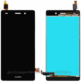 Дисплей Huawei Ascend P8 (GRA-L09) complete with touch Black