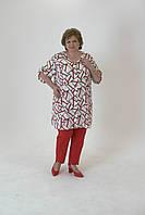 Стильні брюки з декоративною сріблястою тасьмою по ніжці