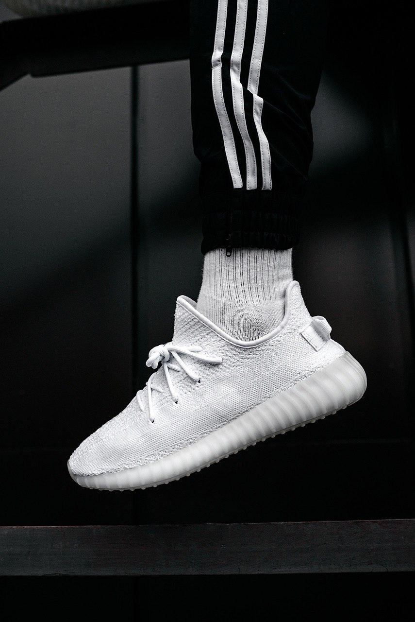 Кроссовки мужские Adidas Yeezy Boost 350 V2 Cream White / Triple White