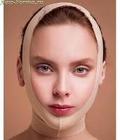 КОМПРЕССИОННАЯ  маска-бандаж для лица CУПЕР- ОВАЛ КОРРЕКЦИЯ ОВАЛА ЛИЦА ЩЕК ВТОРОЙ ПОДБОРОДОК ОРИГИНАЛ!!!