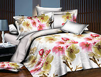 Двуспальный набор постельного белья Черешенка Gold №1523146 180х220 Бязь Белый (BC2G1523146)