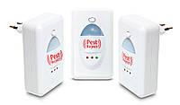 Комплект з 3-х шт: ультразвуковий відлякувач від мишей, комах і тарганів, Pest Reject (Пест Реджект)