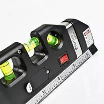 Лазерний рівень Laser Level Pro 3 з вбудованою рулеткою, фото 3
