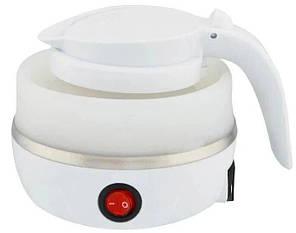 Складной силиконовый электрочайник Electric Kettle 7107, фото 2
