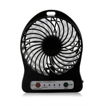 Портативний настільний міні вентилятор Mini Fan XSFS-01 Usb