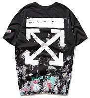✔️ Стильная мужская женская унисекс чёрная футболка на подарок