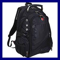 Городской рюкзак мужской Swissgear Men Bag 8810 (Black) Черный