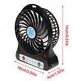 Портативный настольный мини вентилятор Mini Fan XSFS-01 Usb, фото 3