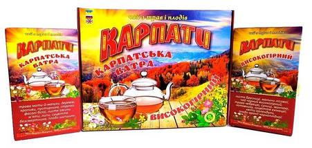 Натуральный травяной фиточай из Карпатских трав и плодов, Подарочный набор высокогорного травяного чая, фото 3