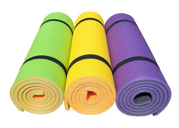 Коврик для йоги и фитнеса «Premium-12» 1800х600х12 мм, фото 2