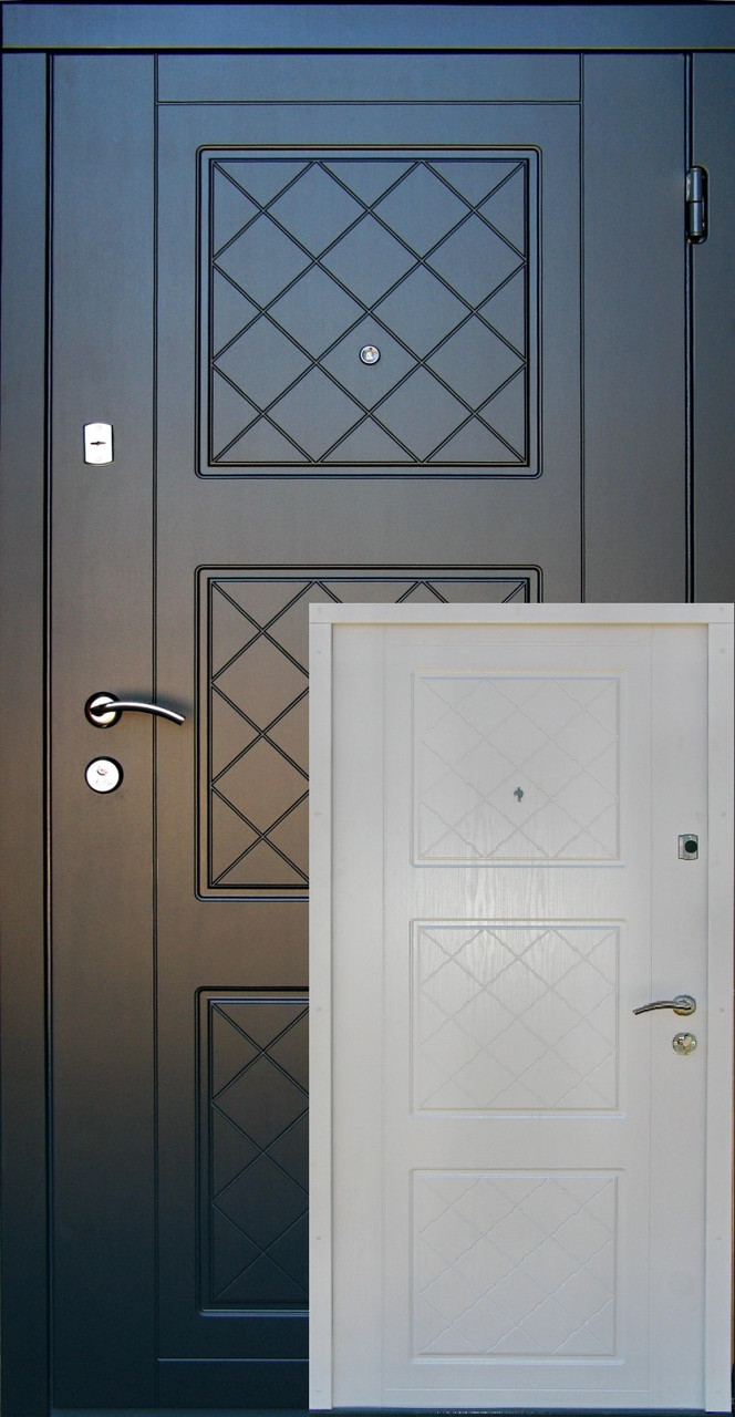 Входные двери Редфорт Верона МДФ в квартиру