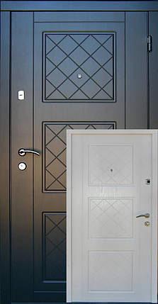 Входные двери Редфорт Верона МДФ в квартиру, фото 2