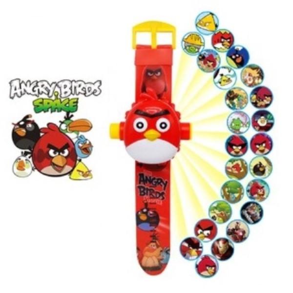 """Детские наручные часы с 3d проектором """"Angry Birds (Злые птички)"""""""