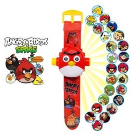 """Детские наручные часы с 3d проектором """"Angry Birds (Злые птички)"""", фото 2"""