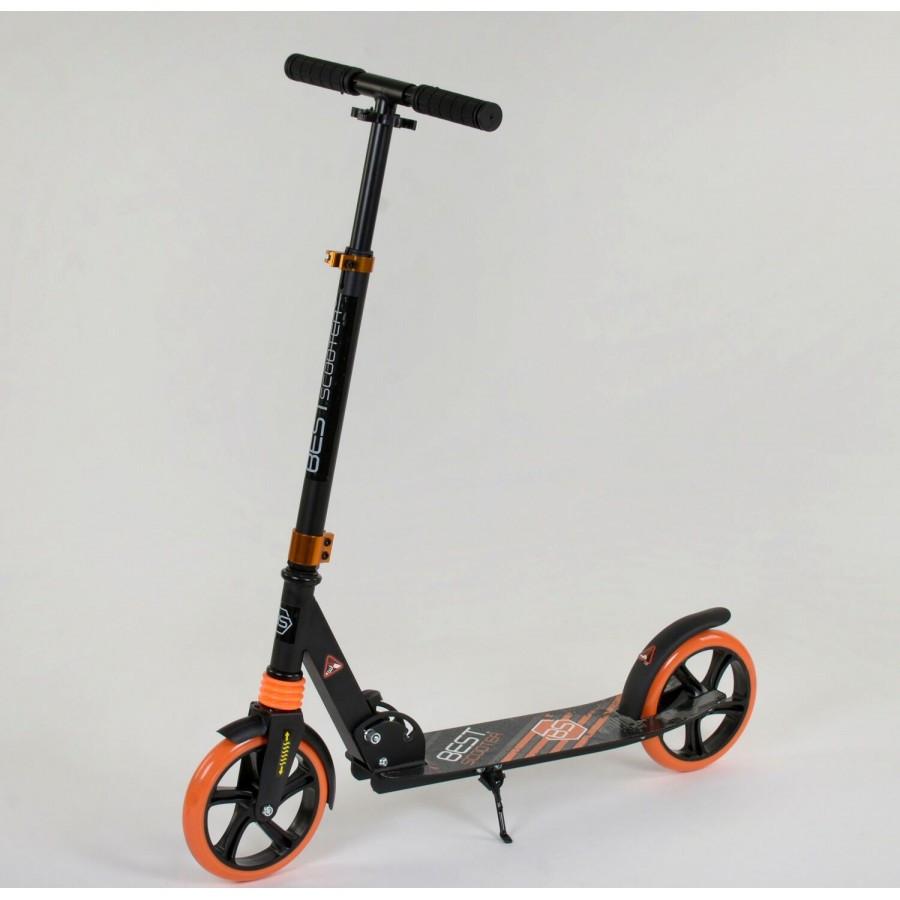 Самокат двухколесный Best Scooter 300681 Черный