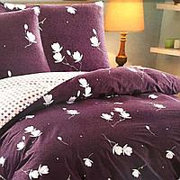 """""""Нежность"""" Евро размер постельное белье ELWAY (Польша), 200/220 см, ткань сатин (100% хлопок)."""