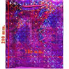 Пакет Подарочный Голографический Малиновый 21 см * 18 см * 7,5 см, Упаковка для Подарков, фото 2
