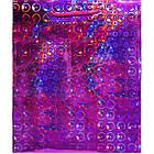 Пакет Подарочный Голографический Малиновый 21 см * 18 см * 7,5 см, Упаковка для Подарков, фото 3