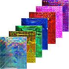 Пакет Подарочный Голографический Малиновый 21 см * 18 см * 7,5 см, Упаковка для Подарков, фото 4