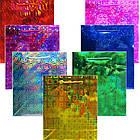 Пакет Подарочный Голографический Малиновый 21 см * 18 см * 7,5 см, Упаковка для Подарков, фото 5