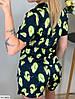 Жіноча легка піжама з принтом авокадо, фото 4