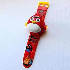 """Детские наручные часы с 3d проектором """"Angry Birds (Злые птички)"""", фото 3"""