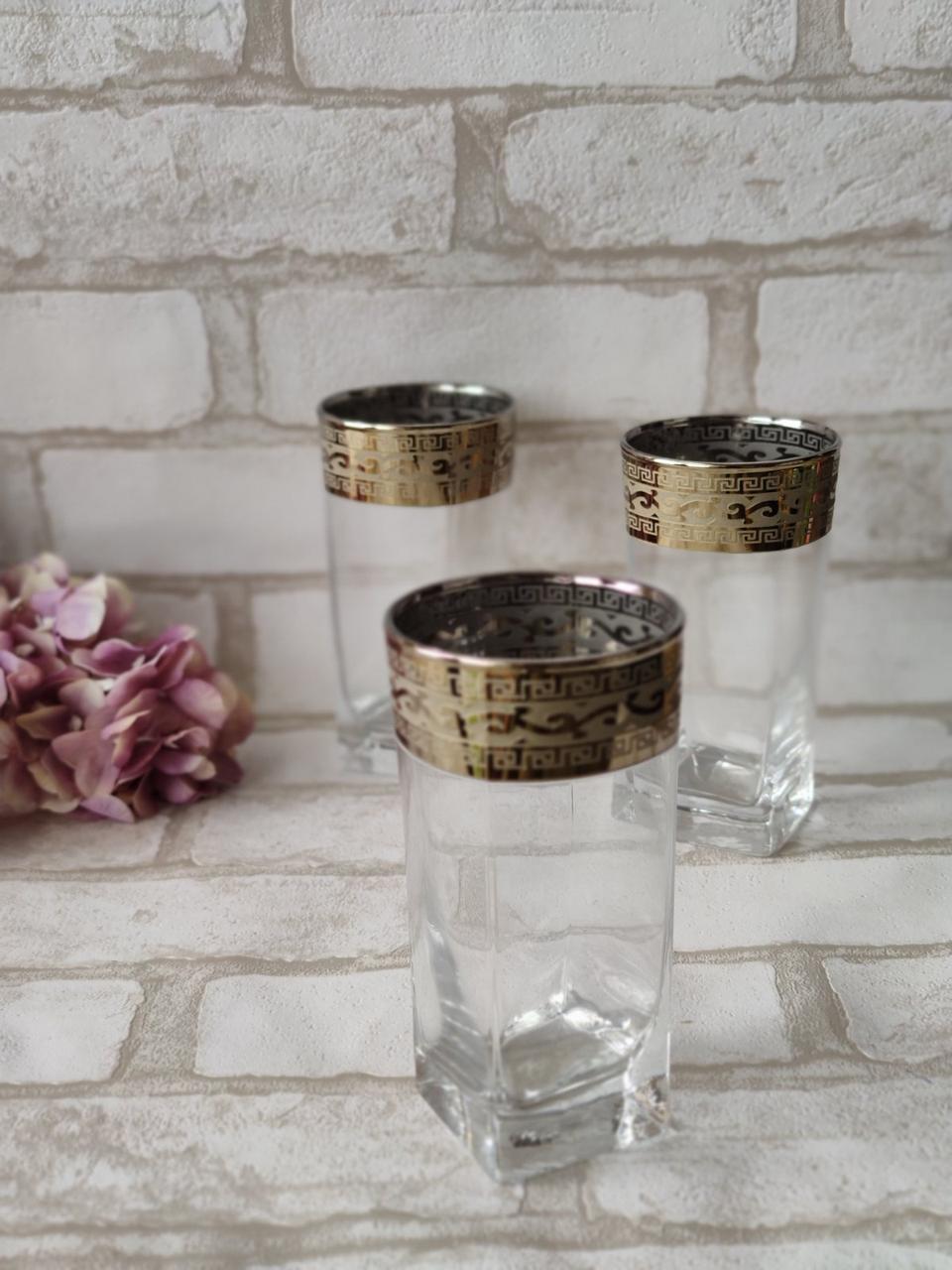 Стакани скляні для напоїв 250 мл,  6 шт/уп. 275 грн