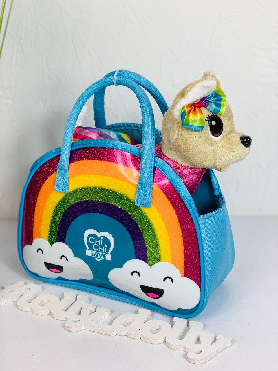 Собачка Chi Chi Love Fashion Rainbow ОРИГИНАЛ Simba 5893438 Чичи лав