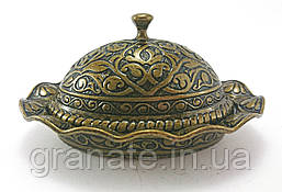 Лукумница овальная Турция, цвет: бронза 11*8.5*7 см