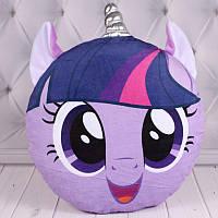 """М'яка іграшка """"Сплюшка Поні"""" фіолетова 00280-3"""