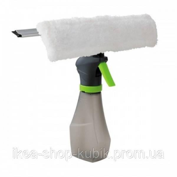 Щітка для миття вікон 3 в 1 Easy Glass Spray Window Cleaner