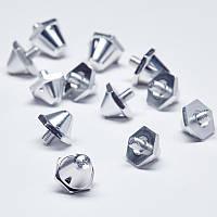 Шипы сменные алюминиевые для футбольных бутс Soccer Studs