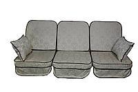 Комплект поролоновых подушек для садовой качели 180 см (П-14)