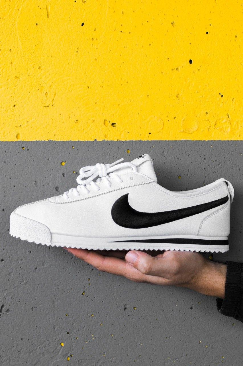 Кроссовки мужские Nike Classic Cortez Leather White Black