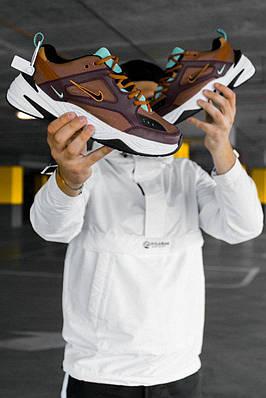 Кроссовки мужские Nike M2K Tekno Mahogany Mink (W)