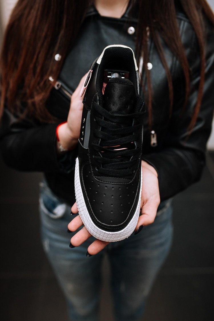Кроссовки мужские Nike Air Force 1 Low Off-White Black