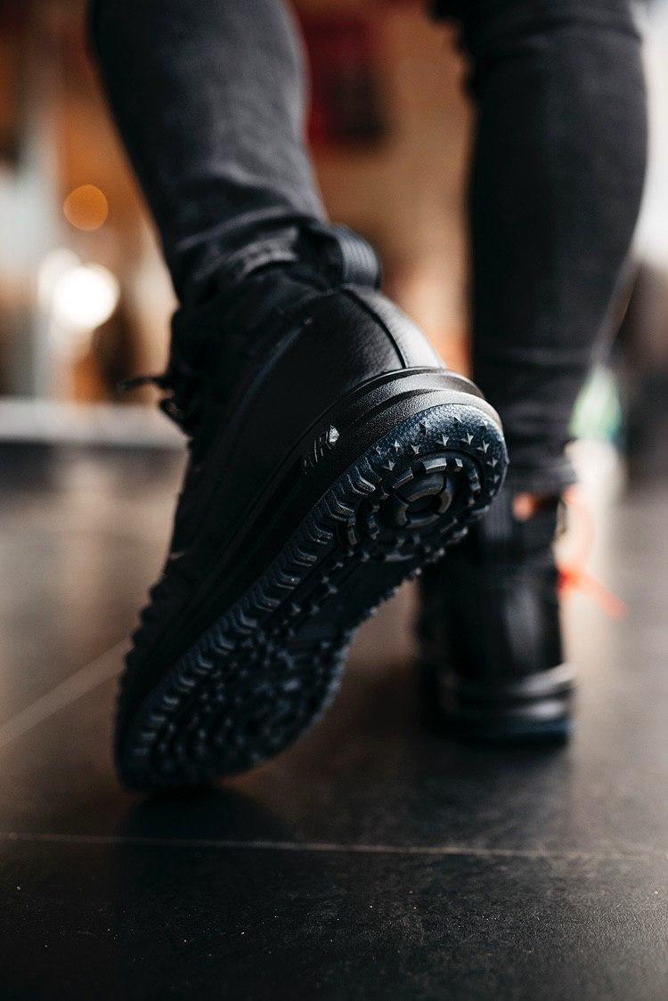 Кроссовки мужские Nike Lunar Force 1 Duckboot Black