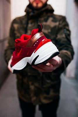 Кроссовки мужские Nike M2K Tekno Mesh University Red (W)