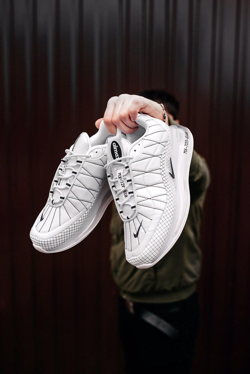 Кроссовки мужские Nike MX720-818 Triple White