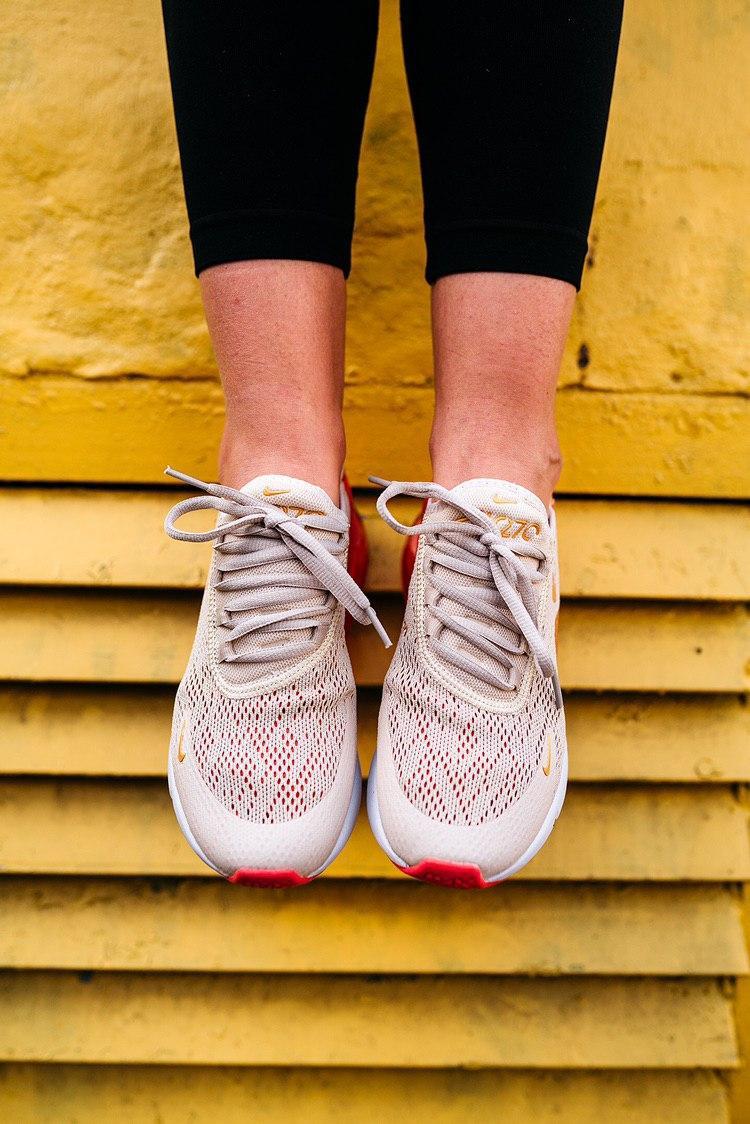 Кроссовки мужские Nike Air Max 270 Light Cream Terra Blush (W)