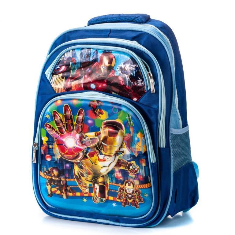 Рюкзаки для школьников 3D