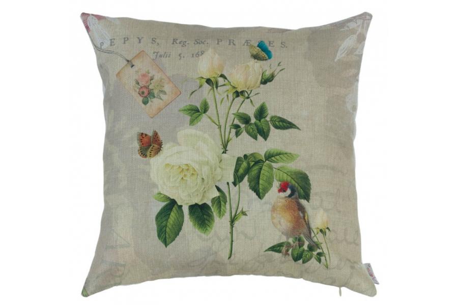 Подушка декоративная Садовые цветы