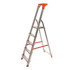 Стремянка алюминиевая Laddermaster Alcor A1AT5. 5 ступенек