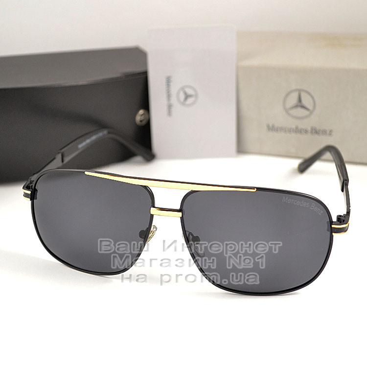Мужские солнцезащитные очки Mercedes-Benz Прямоугольные с поляризацией для водителей Поляризационные реплика