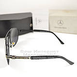 Мужские солнцезащитные очки Mercedes-Benz Прямоугольные с поляризацией для водителей Поляризационные реплика, фото 3