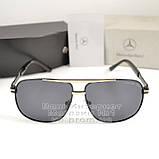 Мужские солнцезащитные очки Mercedes-Benz Прямоугольные с поляризацией для водителей Поляризационные реплика, фото 6