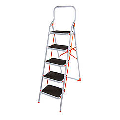 Стремянка стальная Laddermaster Intercrus S1B5. 5 ступенек