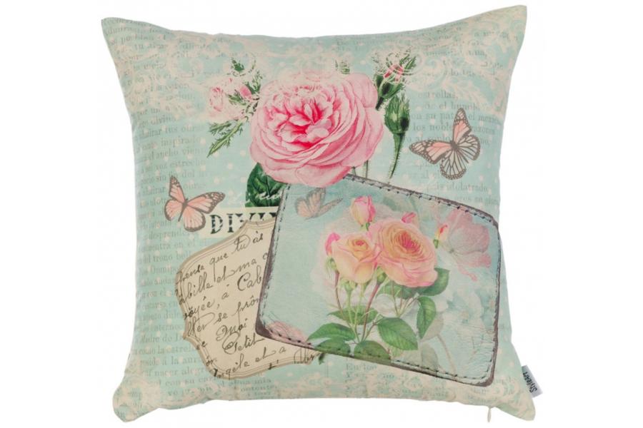 Подушка декоративная  Нежные розы