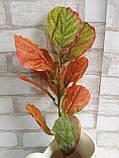 Листья осенние на ветке, в-45 см., 20/15 (цена за 1 шт. + 5 гр.), фото 3